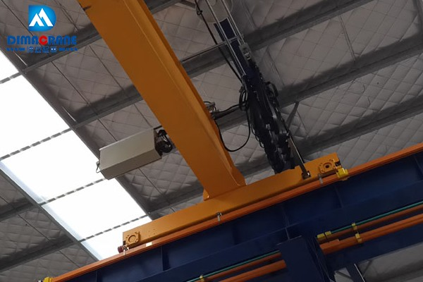 5 ton Euro-style single beam overhead cranes