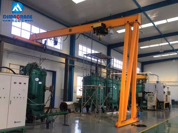 2t Europe style trackless gantry crane