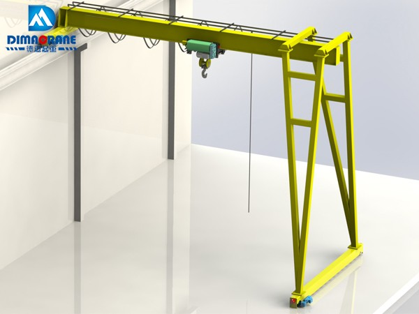 European style trackless half Gantry Cranes