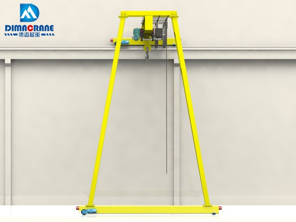 European style trackless Semi Gantry Cranes