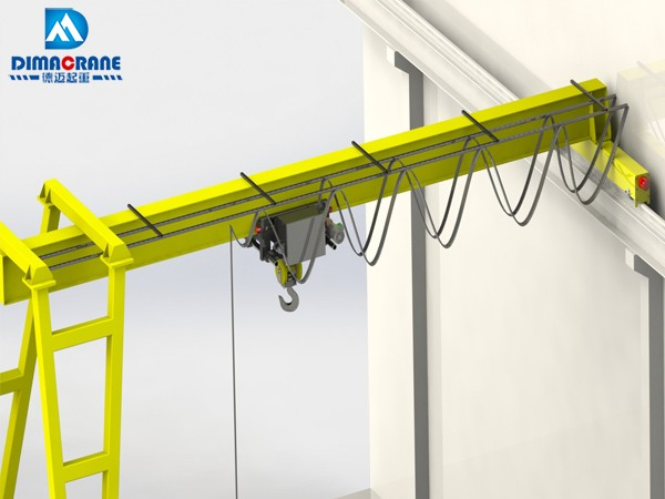 Europe style trackless half Gantry Cranes