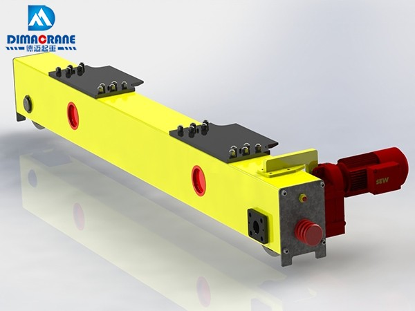 Euro-style End Truck for Double Girder overhead Cranes
