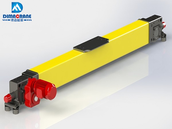Europe style modular end carriage for overhead crane