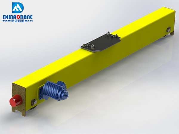Taiwan style End Carriage for Single Girder Overhead Crane