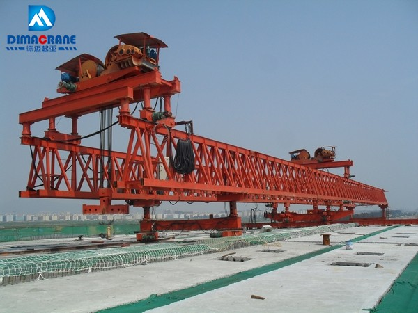 Bridge girder Launcher gantry Crane