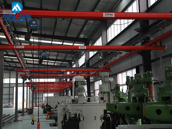 250kg KBK single beam overhead cranes