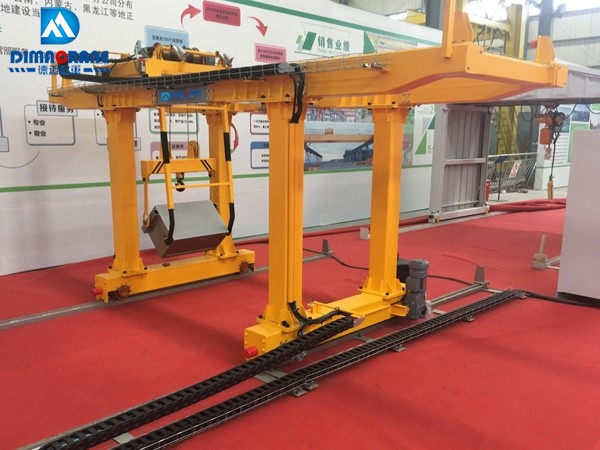 Double Girder Gantry Crane for Subway Slag(double suspension)special door machine