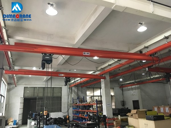 980kg KBK single beam overhead cranes