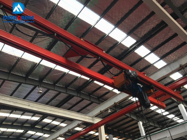 UK40 rail large-tonnage overhead crane