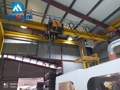 Europe style underslung Overhead crane 5t-9.5m  In Oman